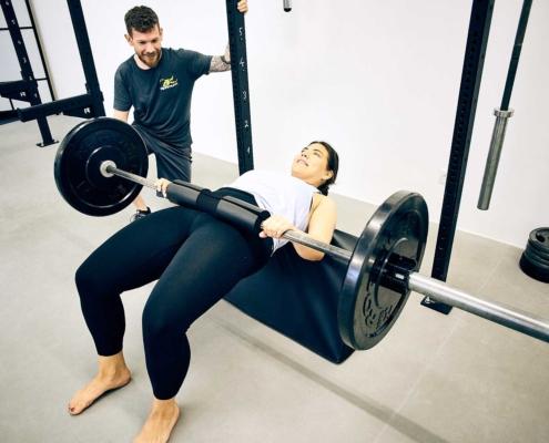 hip thruster fitnesstraining wien
