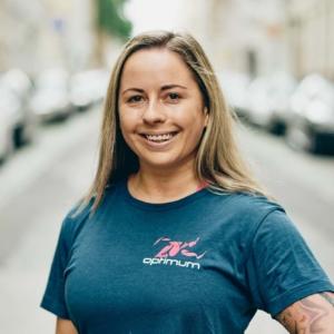 Porträtfoto Optimum Fitness Training Trainerin Tessa Hartmann