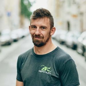 Porträtfoto Optimum Fitness Training Trainer Sascha Ghbryal
